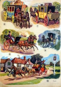 19th century horse drawn carriages