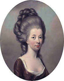 Emily, Duchess of Leinster by Hugh Douglas Hamilton