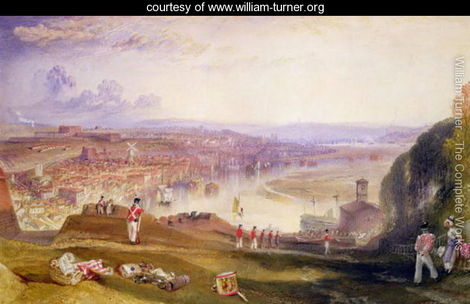 Chatham towards Fort Pitt by Joseph Mallord William Turner