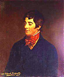 Lord Edward Fitzgerald by Hugh Douglas Hamilton