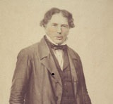 John Helder Wedge, c.1850 by Frederick Frith. Used with permission from the Allport Library and Museum of Fine Arts, Tasmanian Archive and Heritage Office