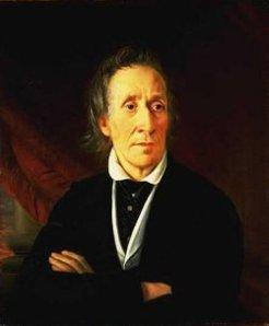Portrait of J.P.Fawkner, Founder of Melbourne, by W. Strutt (Courtesy NLA)