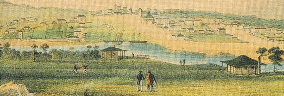 MELBOURNE 1841. Image Courtesy of the State Library of Victoria, Image no. H6262/2 http://handle.slv.vic.gov.au/10381/87604
