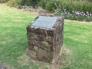 The Pioneer Memorial at Box Hill.