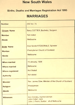 Image 5-3 Marriage certificate