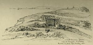 The nameless Graves of Point Ormond. A reRelic of the Glen Huntly by Charles Samuel Bennett (Courtesy SLV) To use the magnifying glass click here